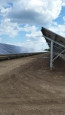 Helcial Screw Piles used for a solar field