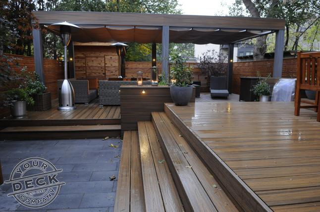 Trex Deck constructed by Your Deck Company